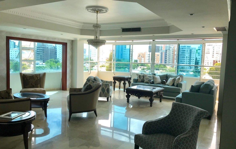 Penthouse Hazel Scarlet terraza