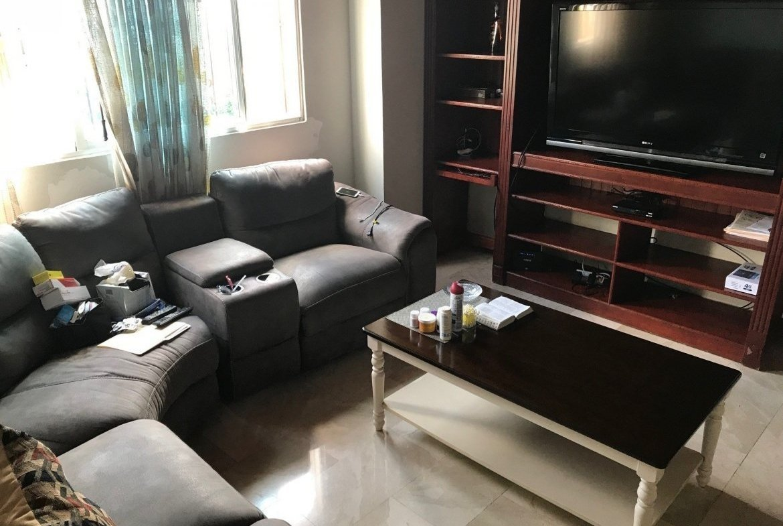 Penthouse Hazel Scarlet family room