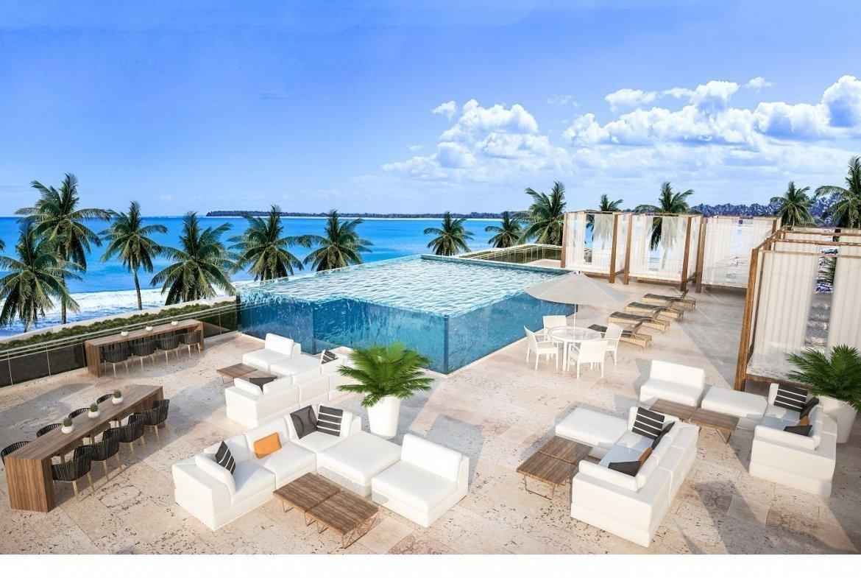 Regatta Blue Bay Residences - Apartamentos área común piscina y vista al mar