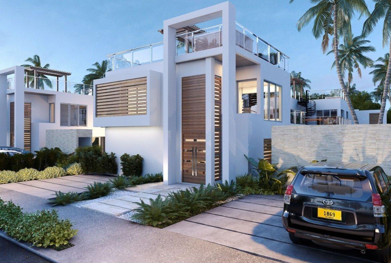 Blue Bay Villas & Lots - fachada frontal de la Villas