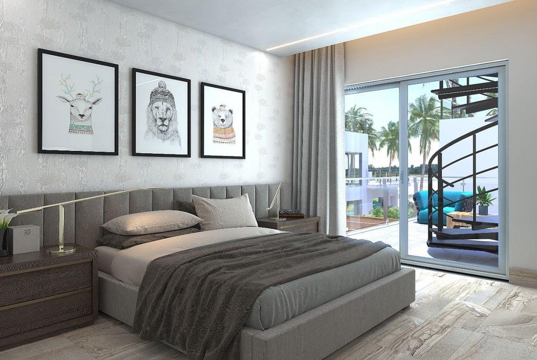 Blue Bay Villas & Lots - Habitación en el primer nivel