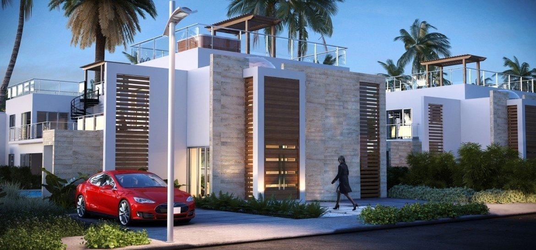 Blue Bay Villas & Lots - fachada frontal de la villa