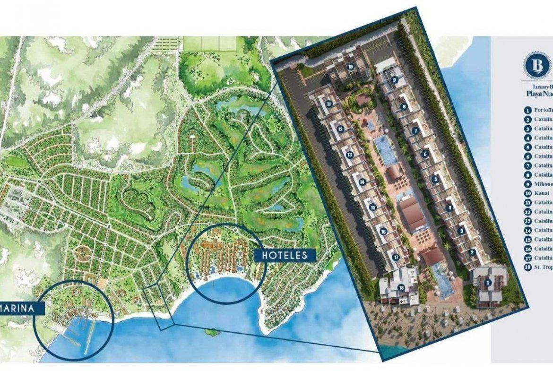 Blue Bay Villas & Lots - Mapa de Ubicación